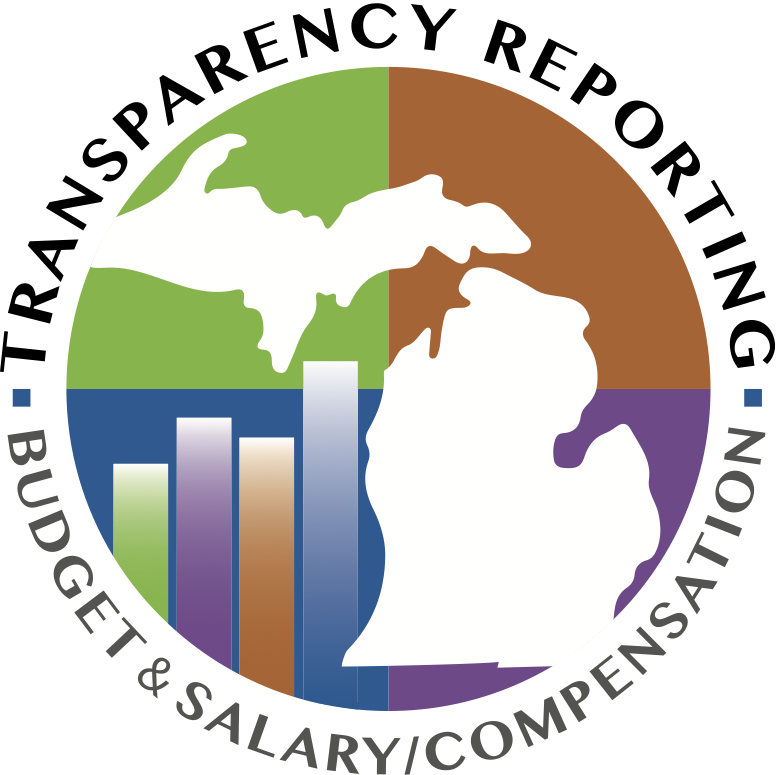 Transparency Reporting Michigan Logo