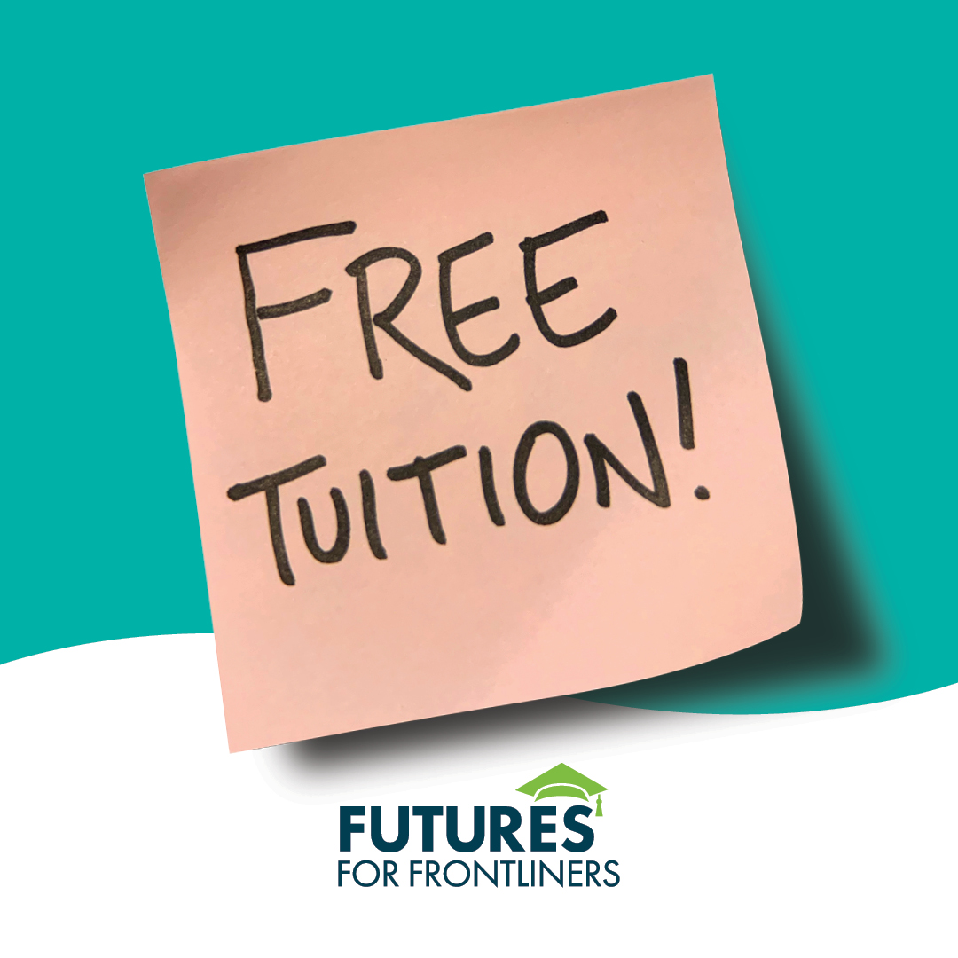 free tuition button