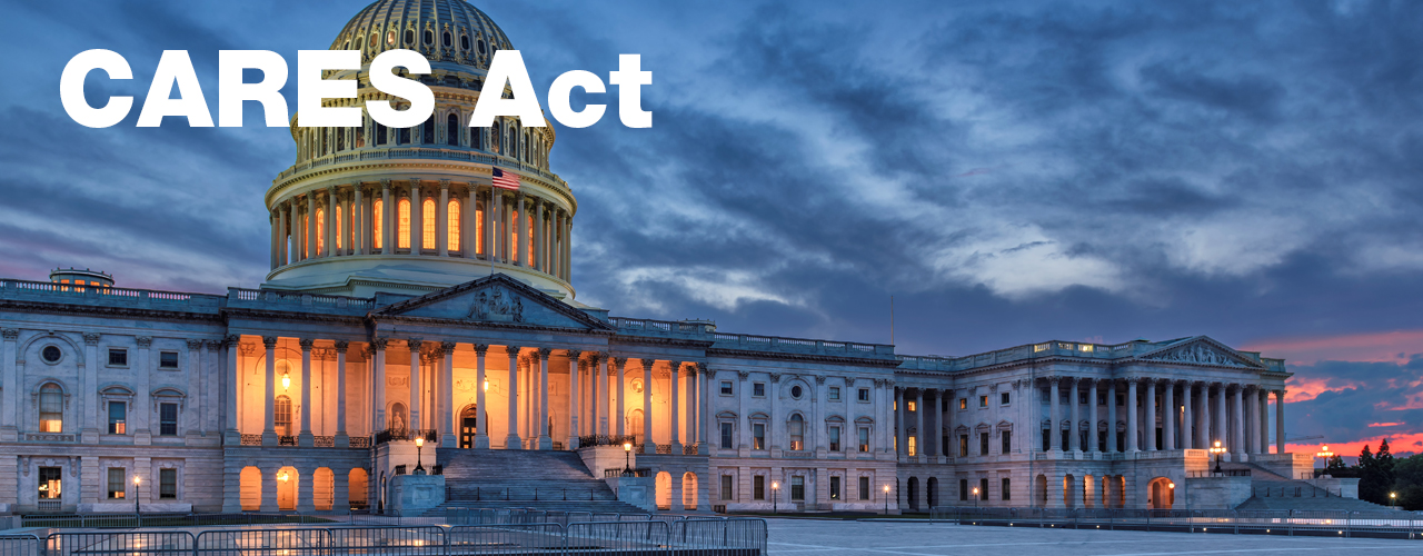 CARES Act image header