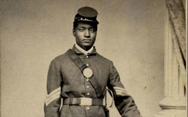 African American Civil War Soldier photo